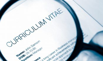 Top tips for your CV